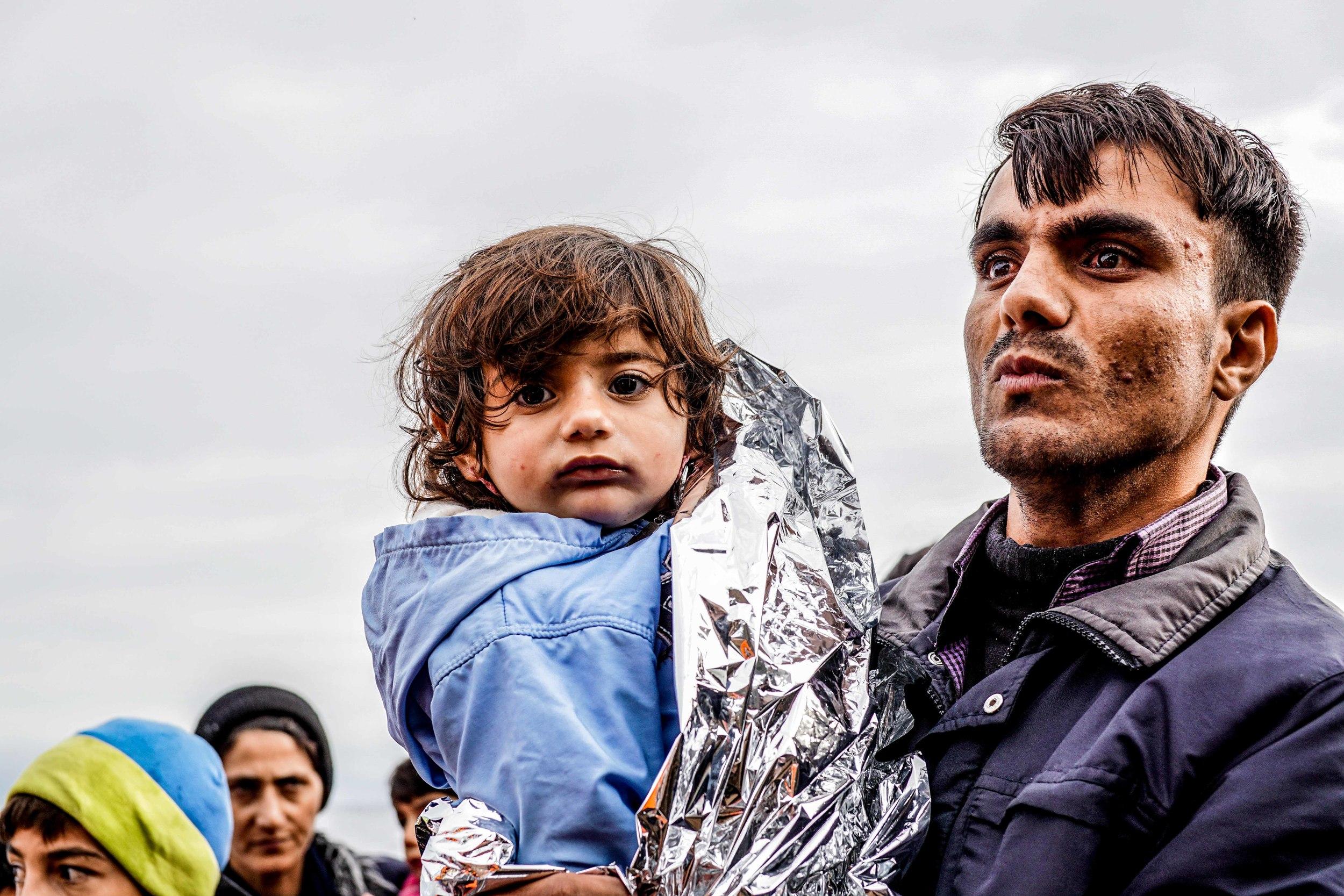 Harrison Bruhn Greek Island of Lesvos Refugee Arrival November 2015 7.jpg