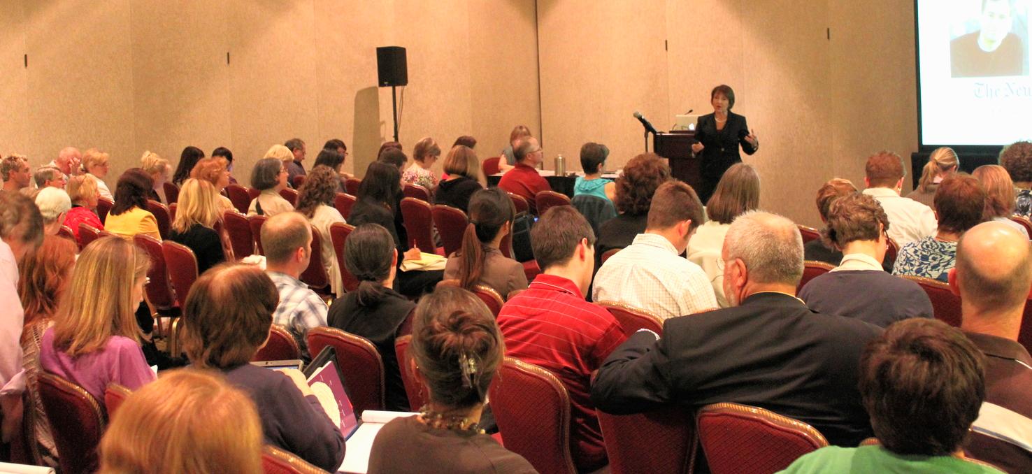 Dr. Palladino speaking in chicago