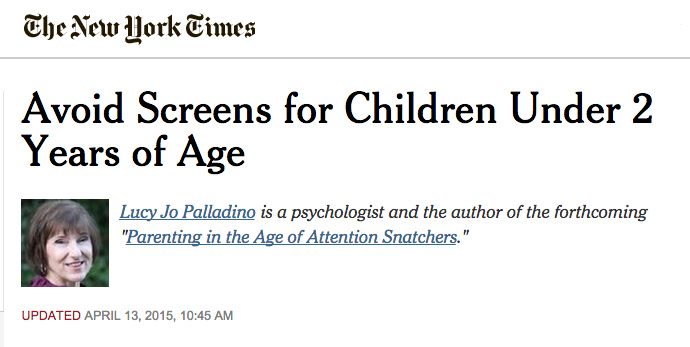 PALLADINO  in the New York Times