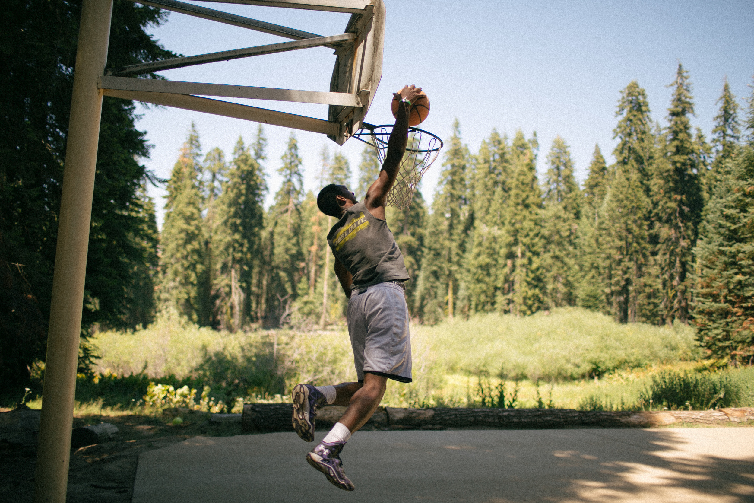 Ball in the Sierra's!