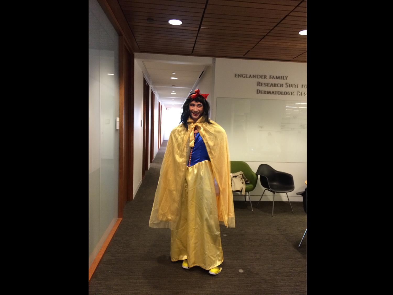 John Blenis is the fairest of them all!  October 2014