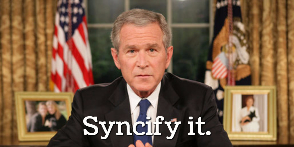 Thank you, President Bush (and SNL), for your vocabularious inspirationatoriousness