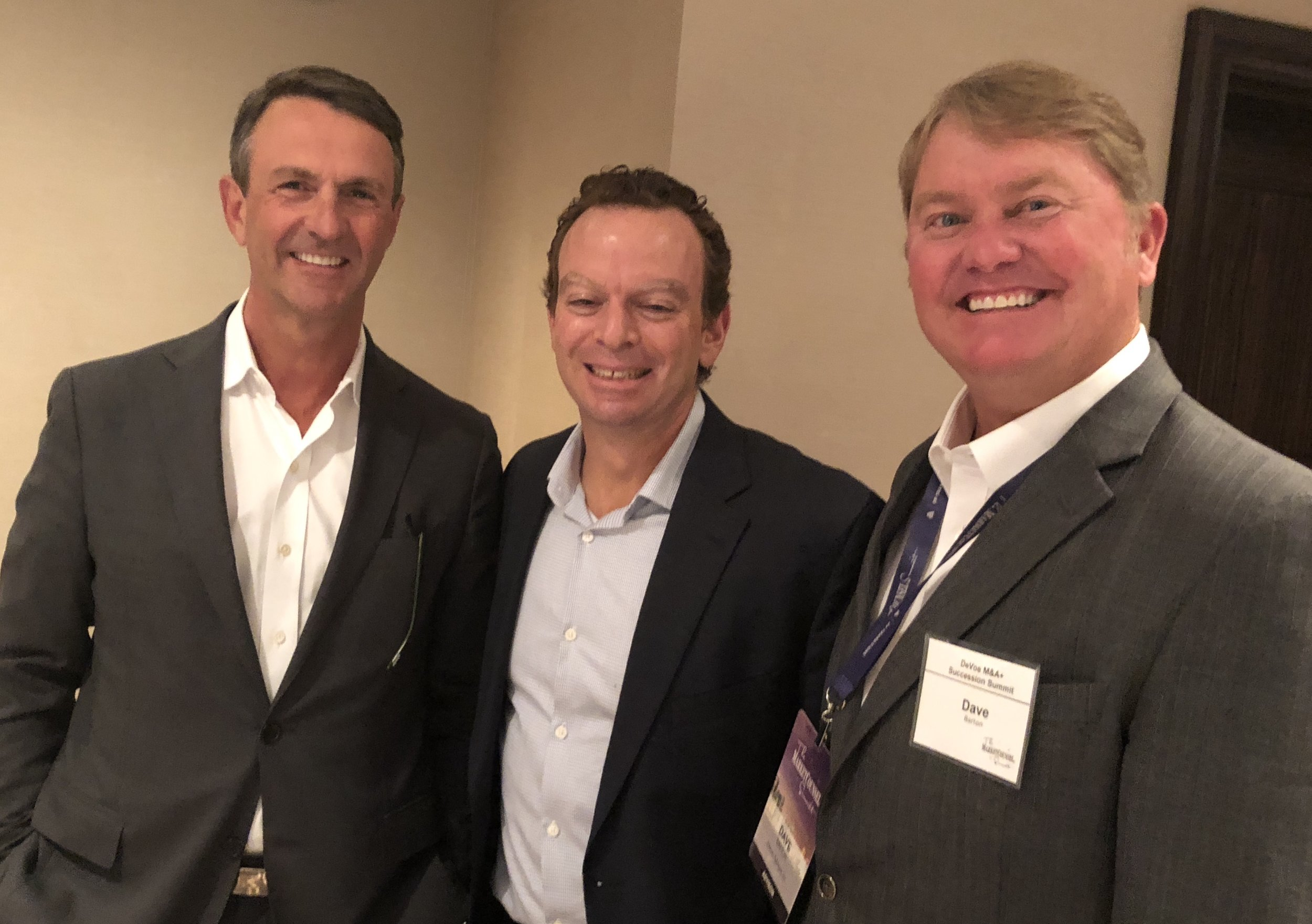 Rush Benton - CAPTRUST, Richard Feldman - Investor Solutions, Dave Barton - Mercer