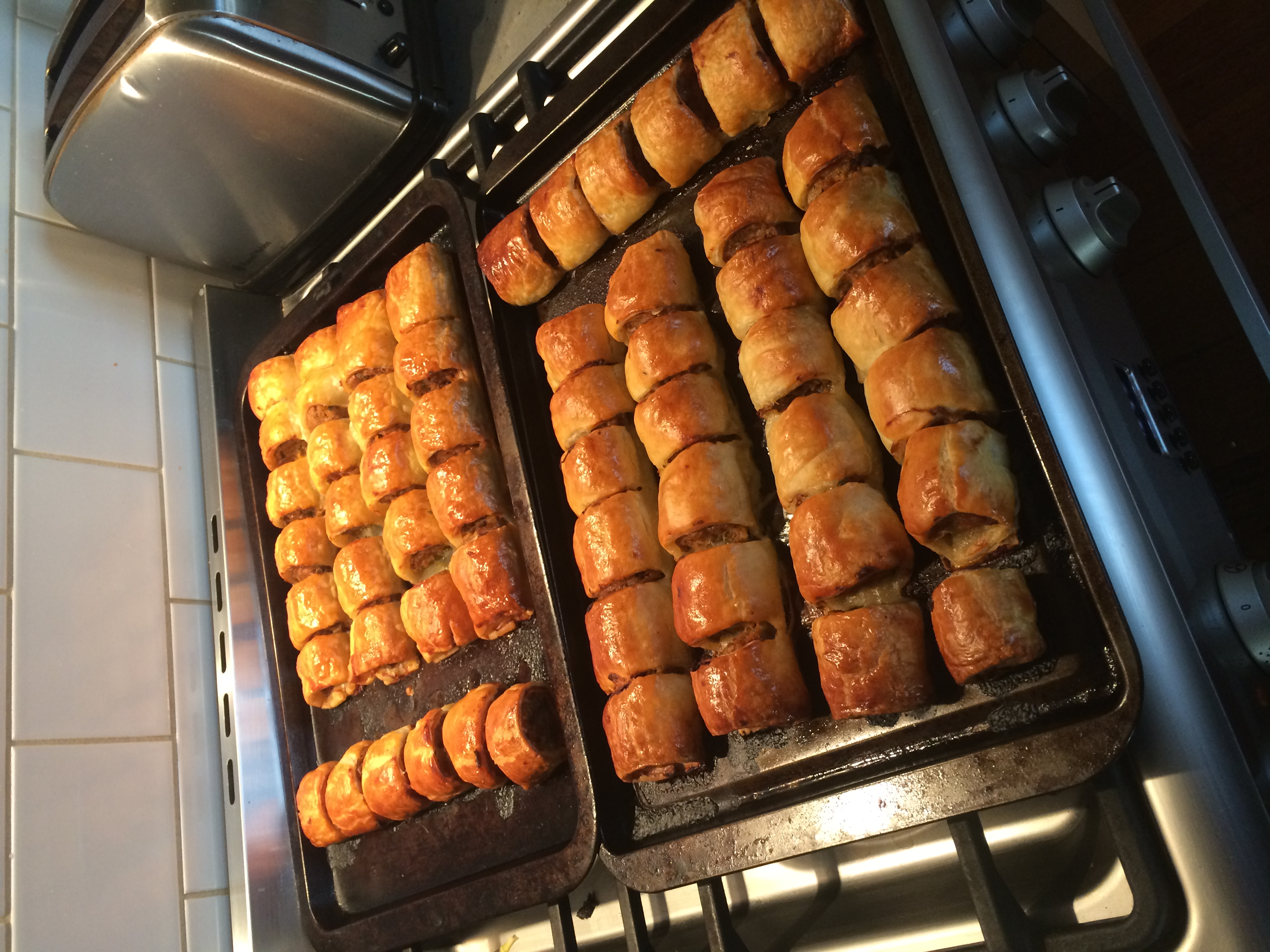 Claire's Mum's Best Sausage Rolls In The World