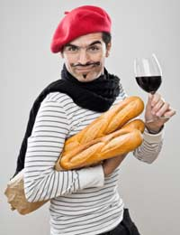 French dude