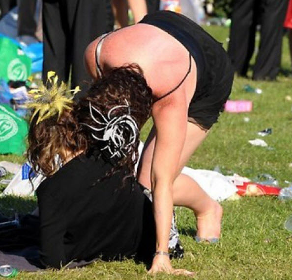 The Melbourne Cup often brings out the bogan in the best of us.