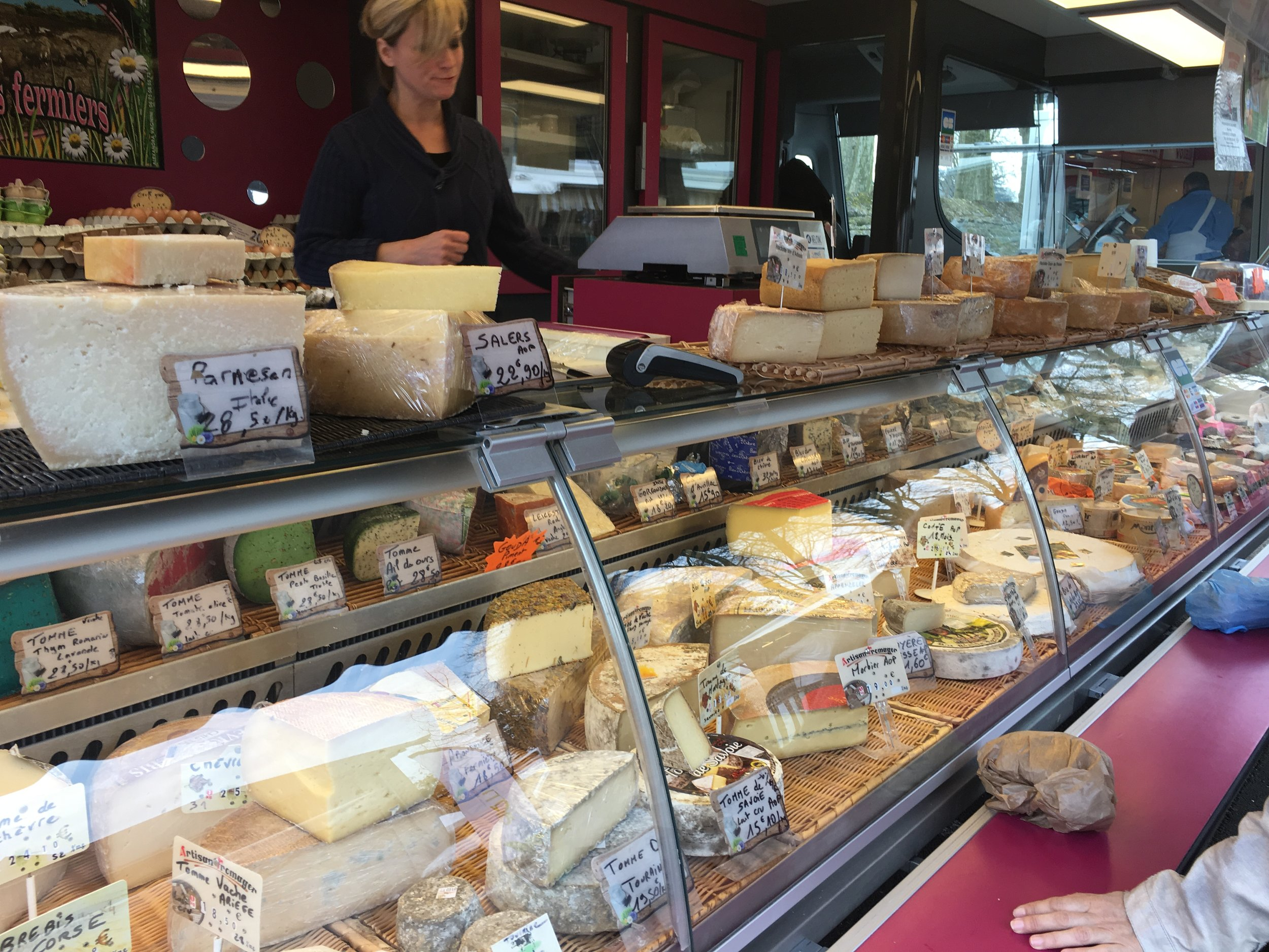 Beaucoup de fromage