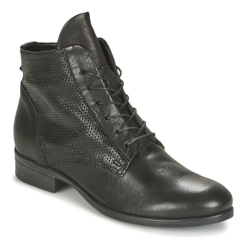 Black boots, by Bocage (I personally have a pair of these).