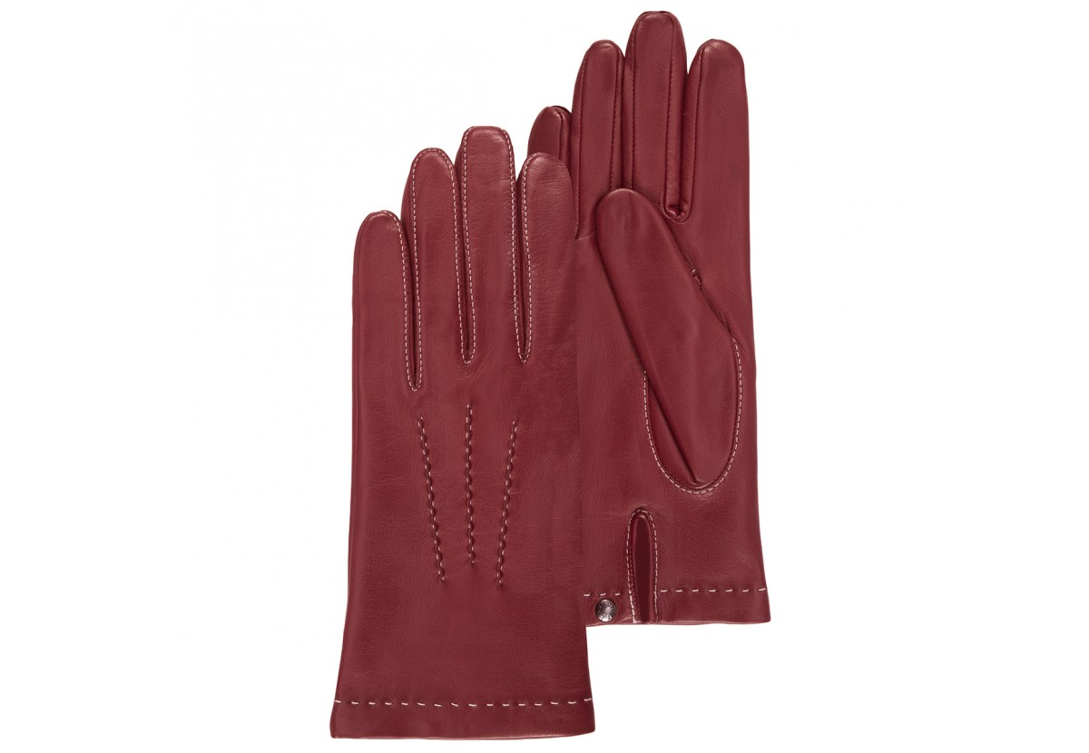 Leather gloves, found on isotoner.fr