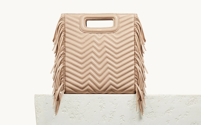 Maje bag: frills are a thing.