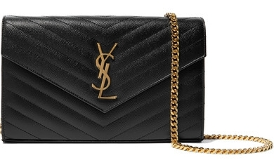 YSL. Everybody needs a little black bag.
