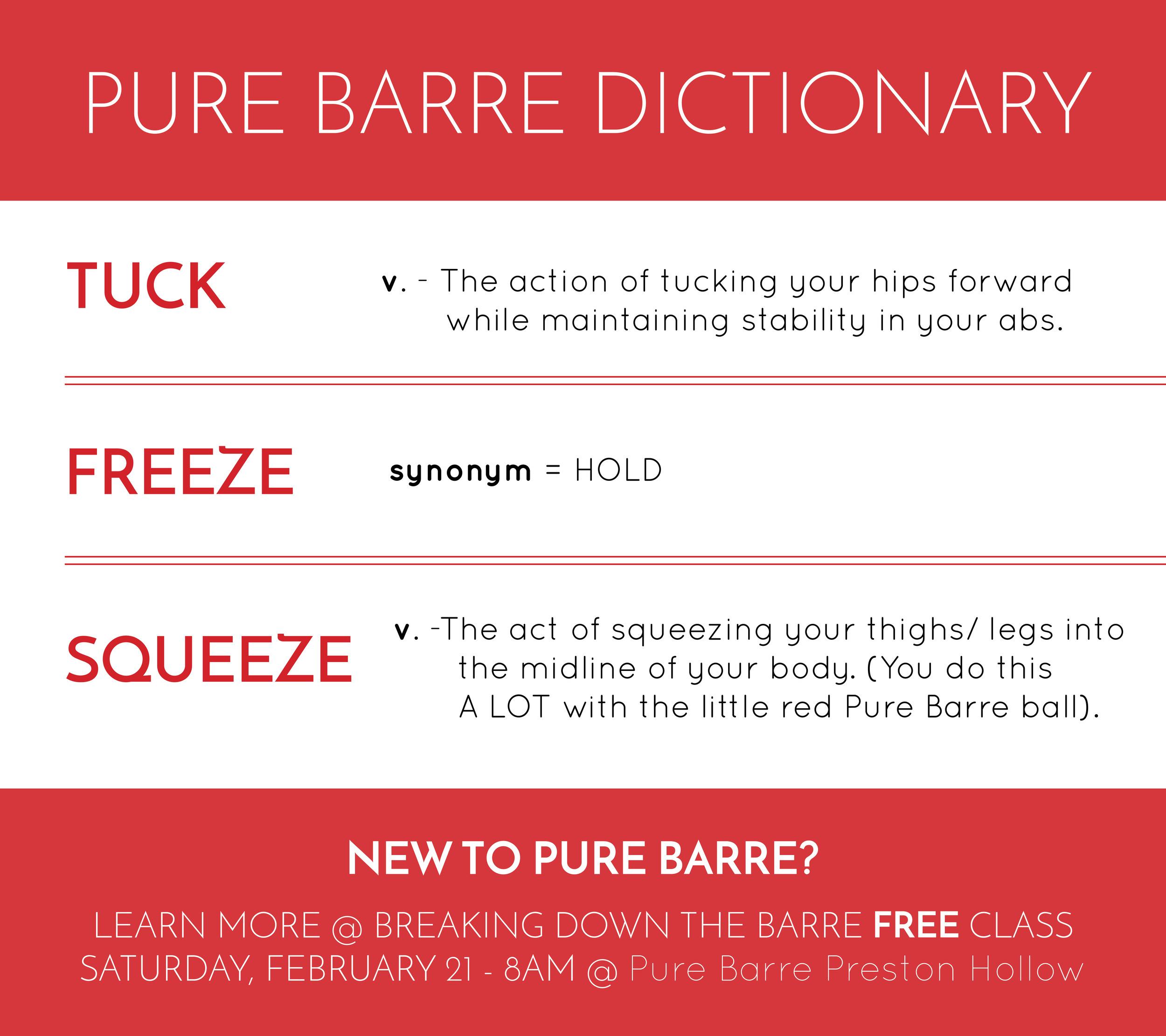 PureBarre_Dictionary_BreakingDownTheBarre
