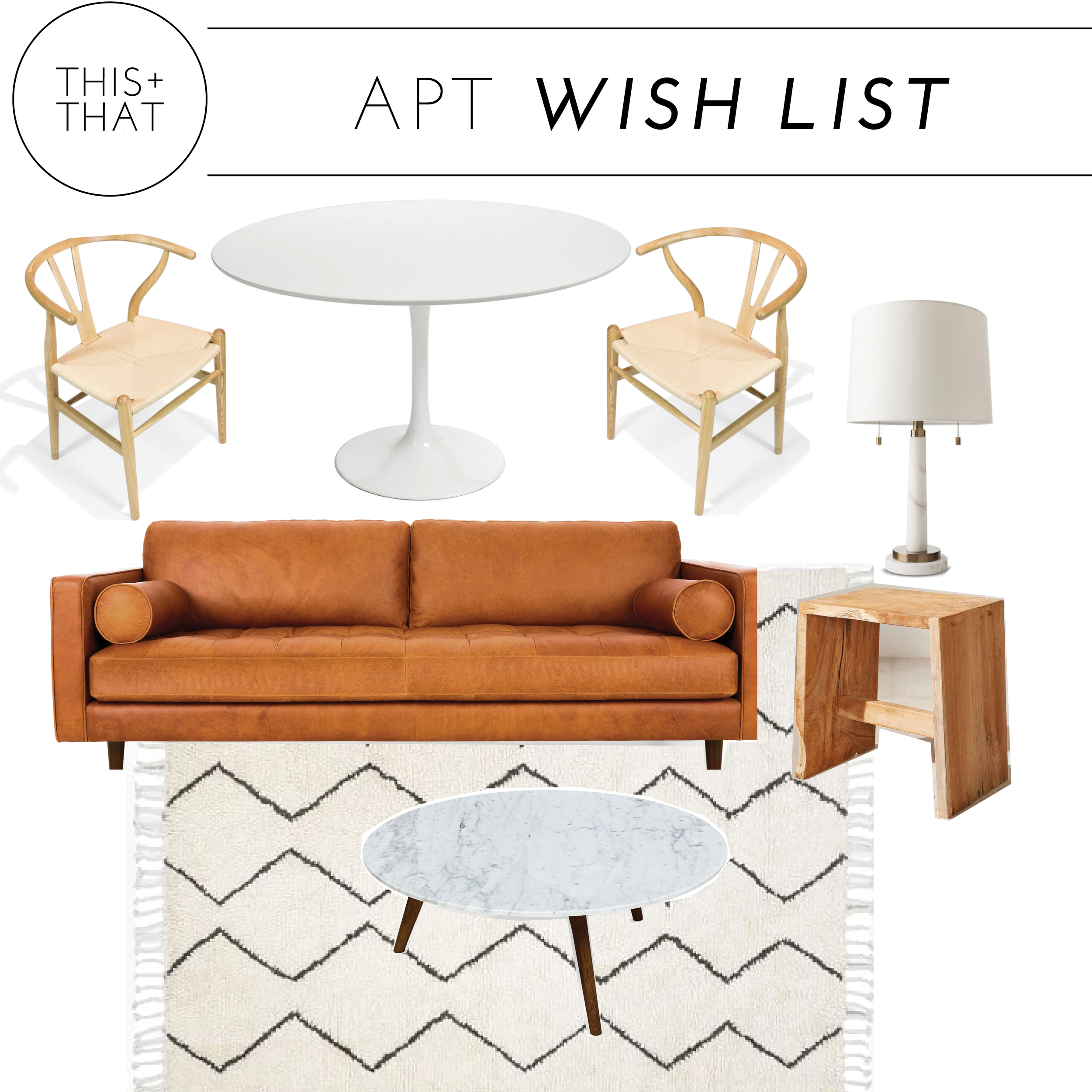 SHOP THE POST:      COFFEE TABLE   |   RUG   |   COUCH   |   END TABLE   |   DINING TABL  E |   DINING CHAIRS   |   LAMP