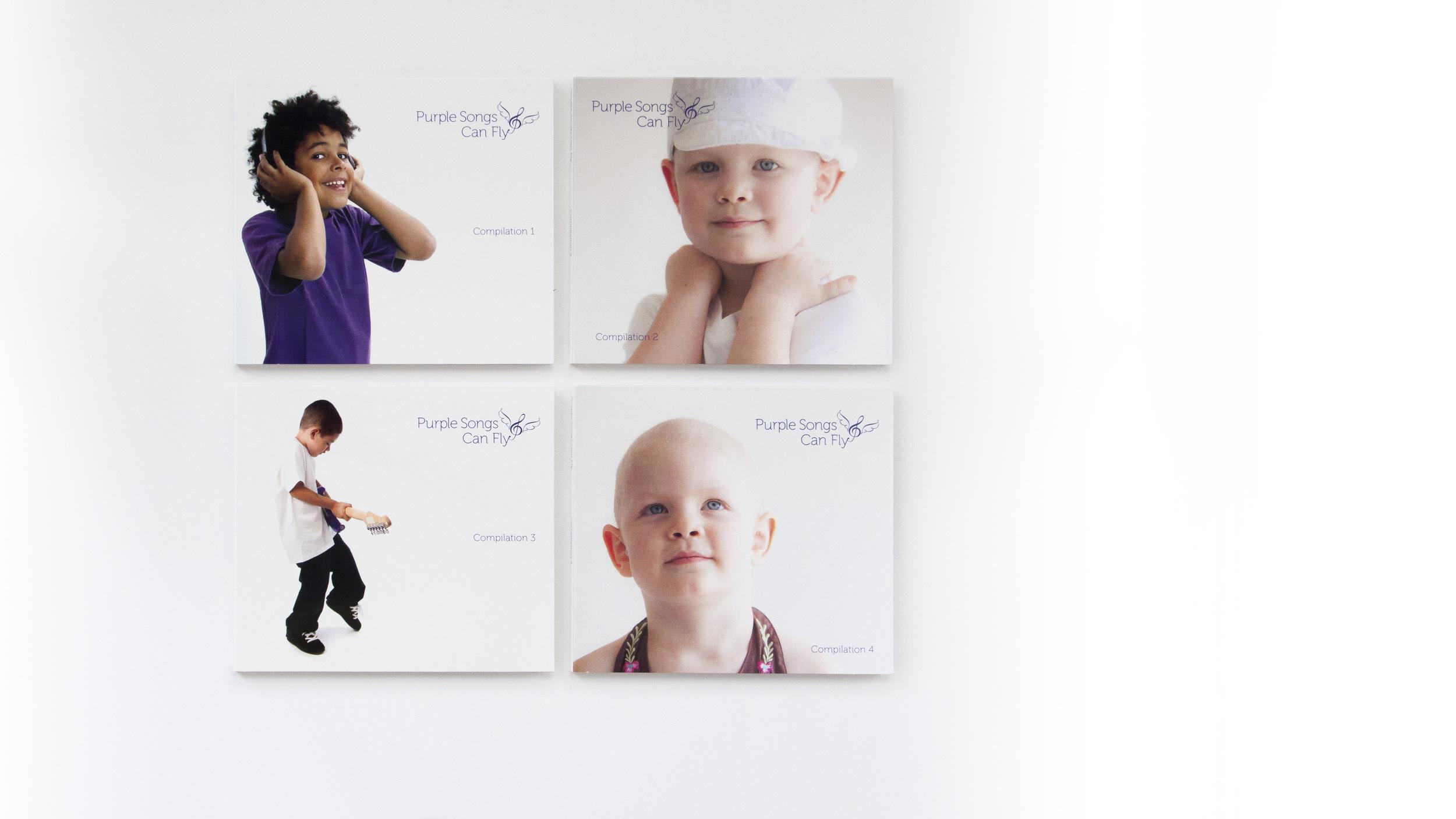 Branding: Purple Songs Can Fly