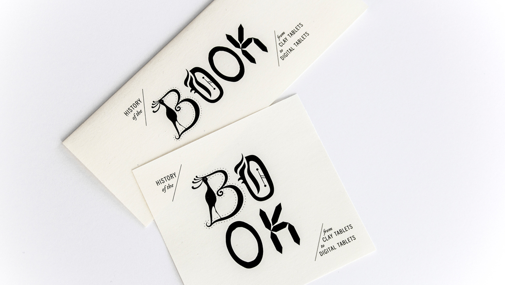 HISTORY OF THE BOOK - event branding &logo design