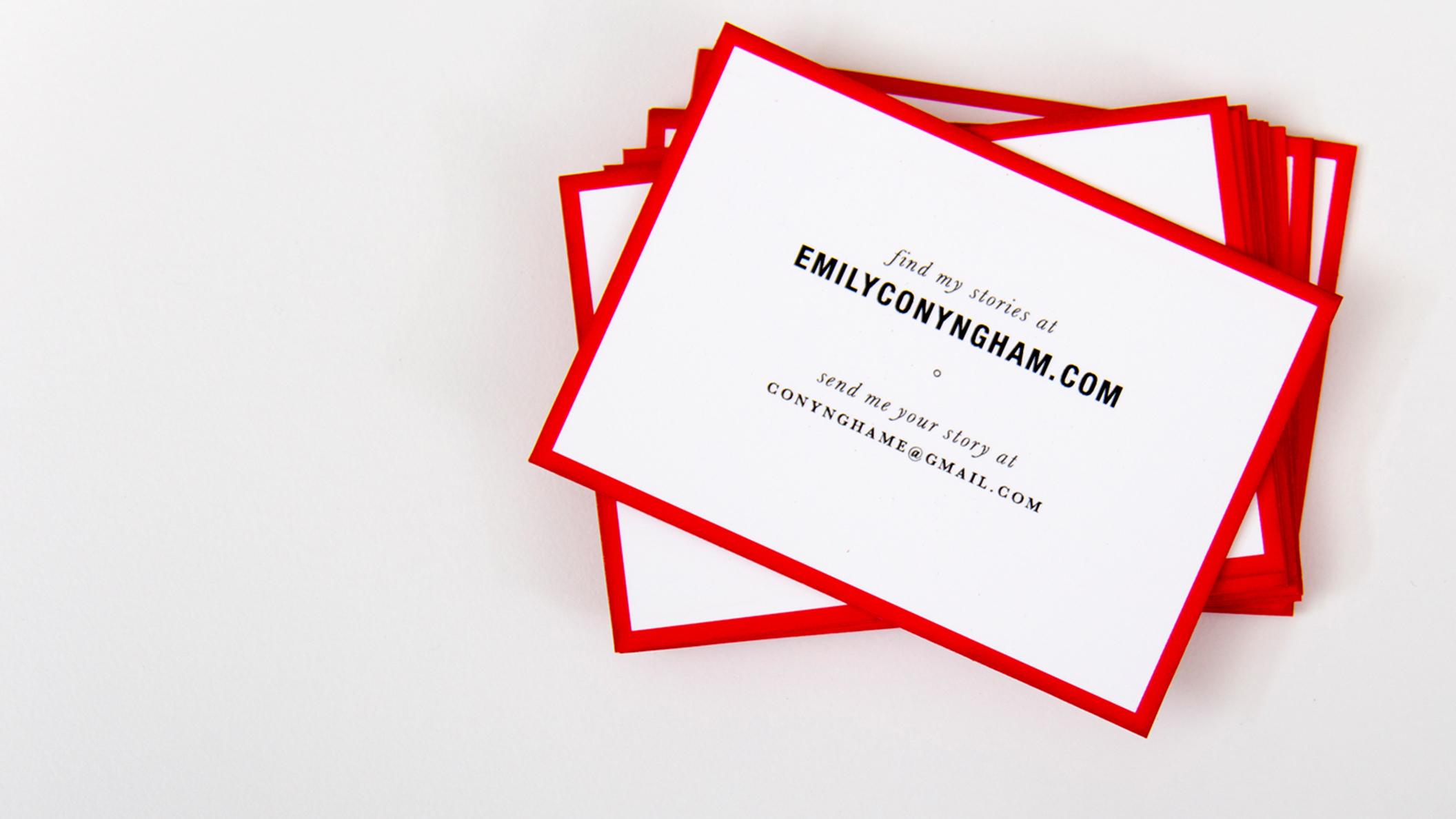 Branding: Emily Conyngham