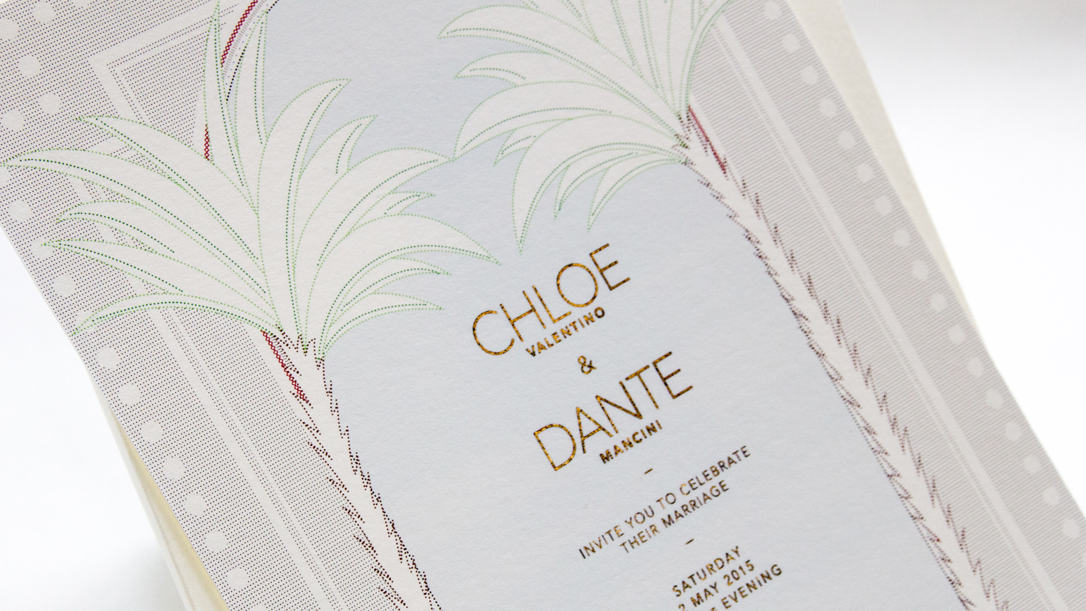 EPHEMERA: CHLOE & DANTE'S WEDDING