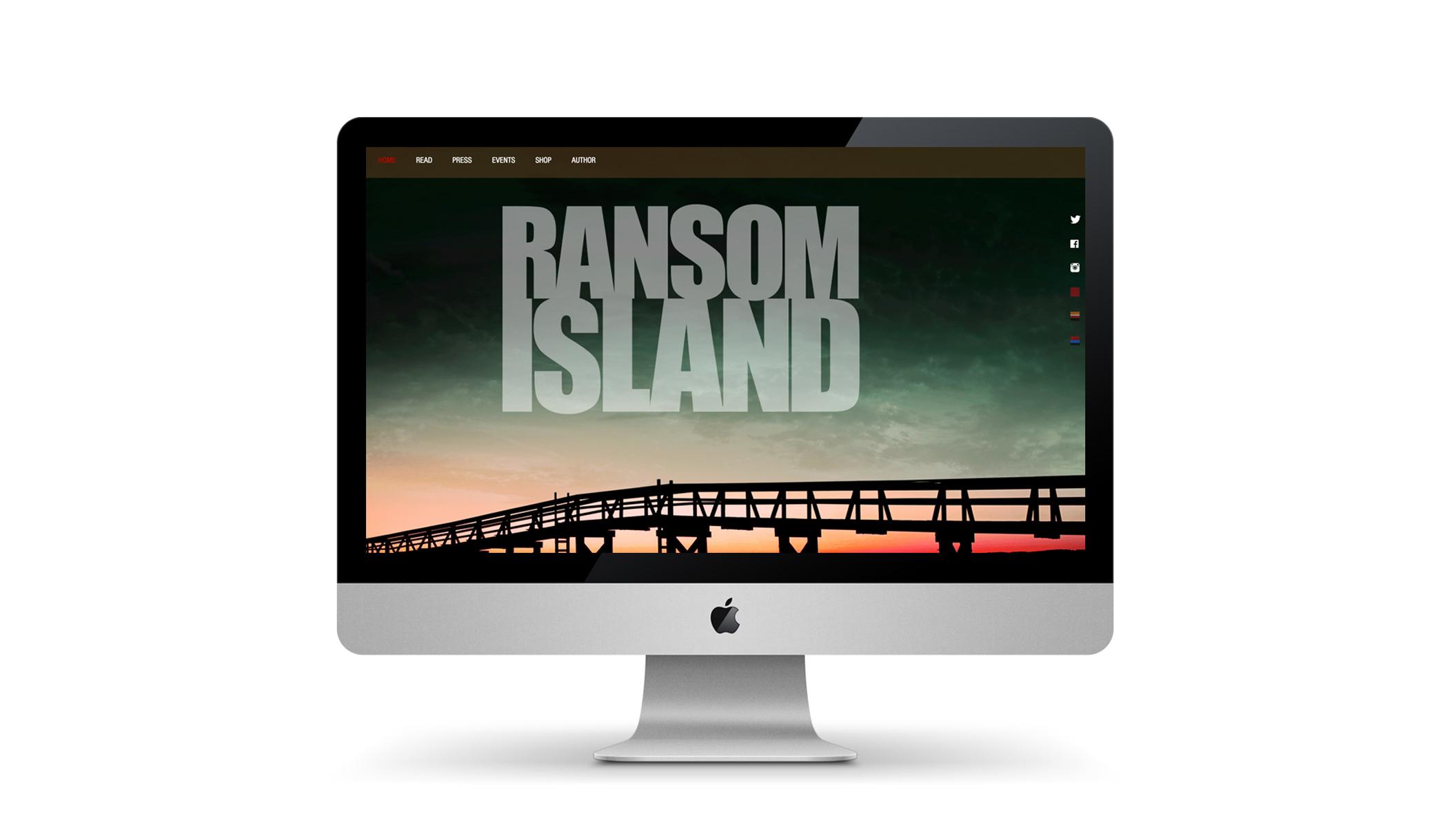 WEBSITE DESIGN & CODING: RANSOM ISLAND