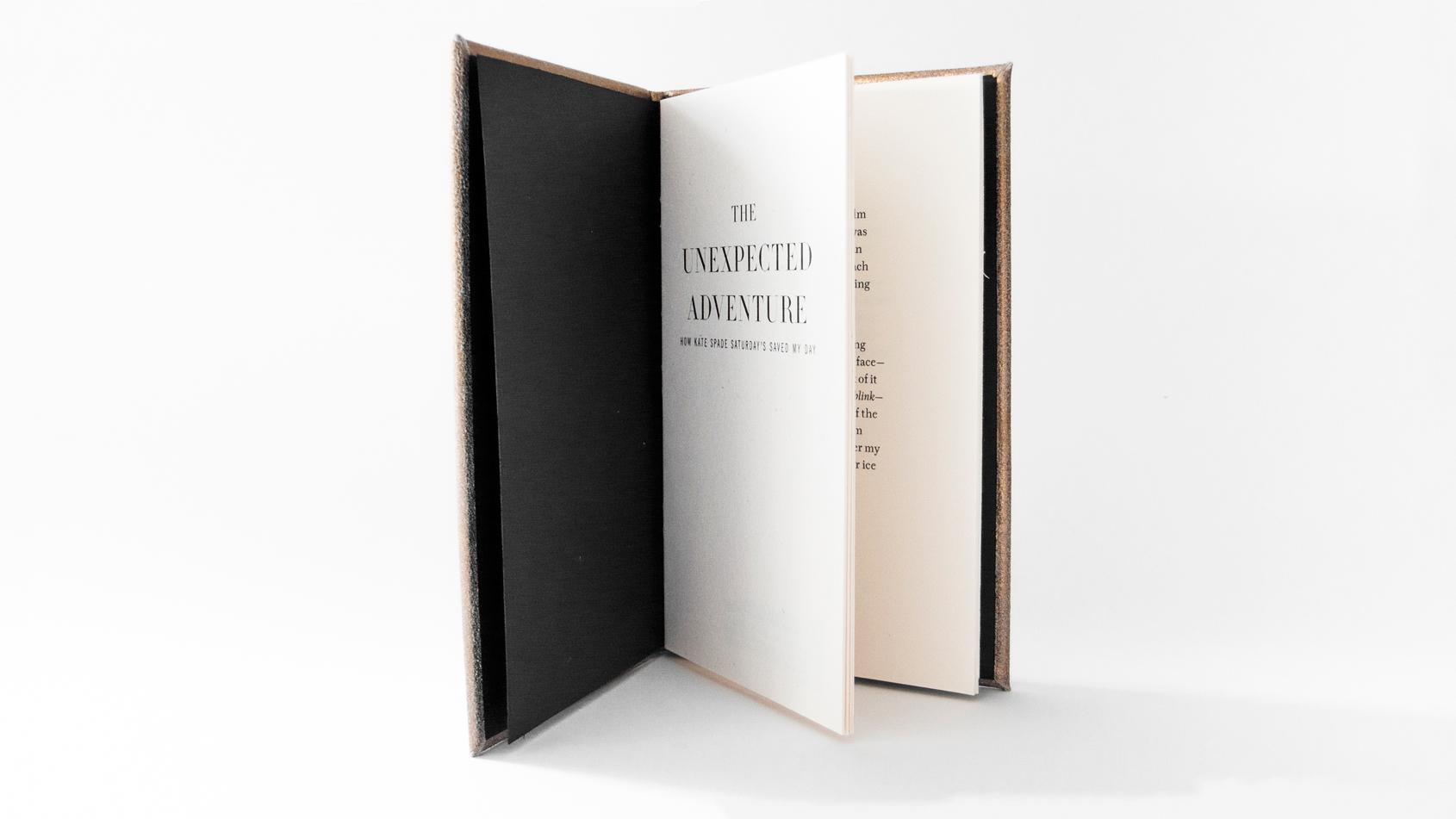KATE SPADE SATURDAY'S - book design