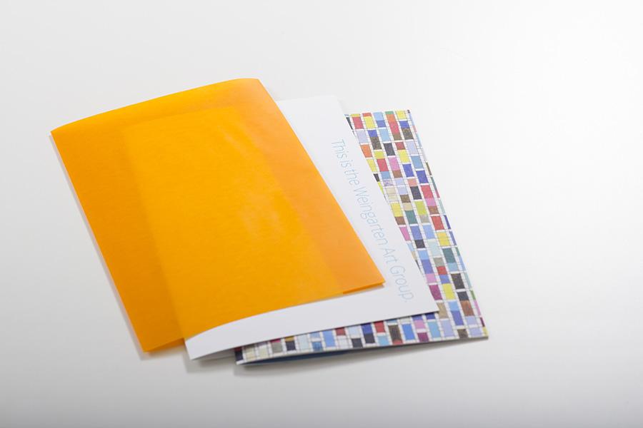 WEINGARTEN ART GROUP - promotional design