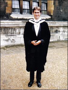 Oxford University makes you wear weird clothes