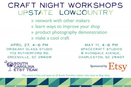 Craft Night Workshops Flyer