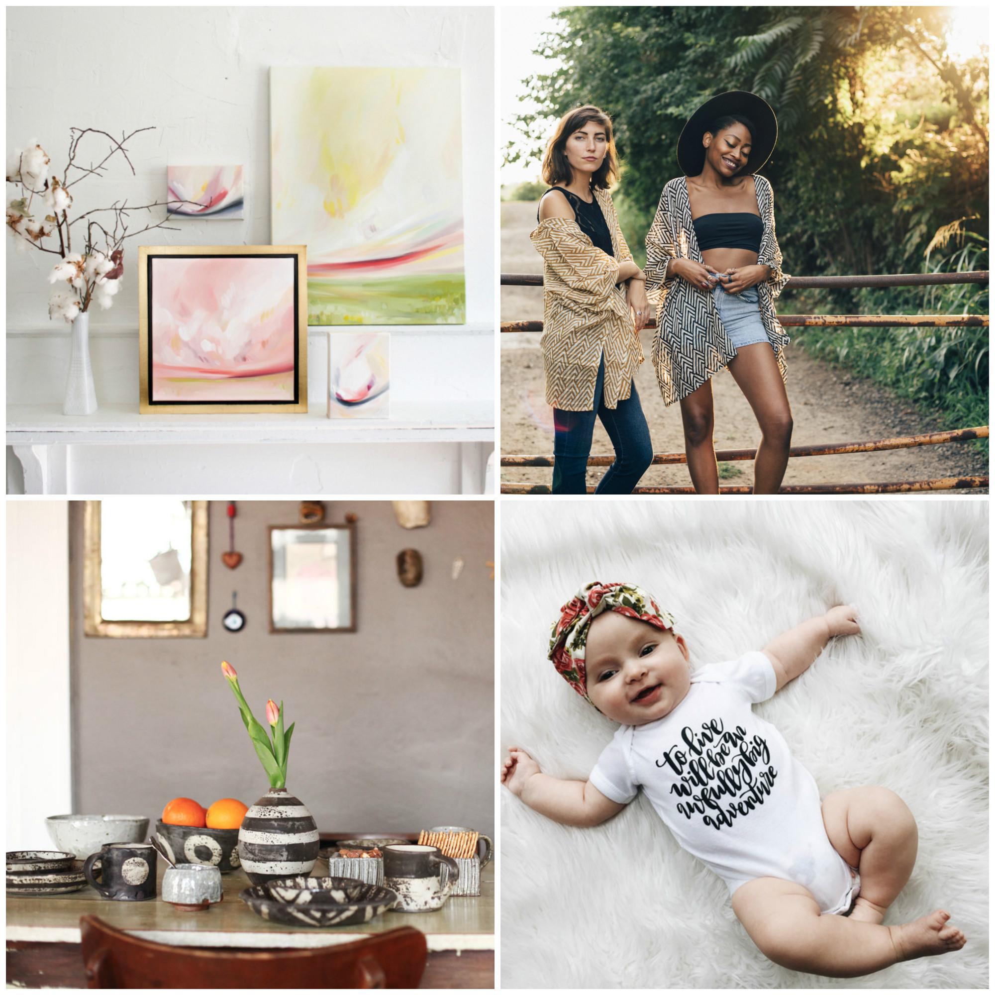 Emily Jeffords /  Maelu Designs  /  Melissa Weiss Pottery  /  Jenny Highsmith