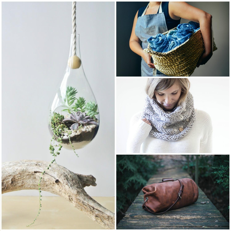 The Zen Succulent /  Garner Blue  /  Culleymade Knits /  Go Forth Goods