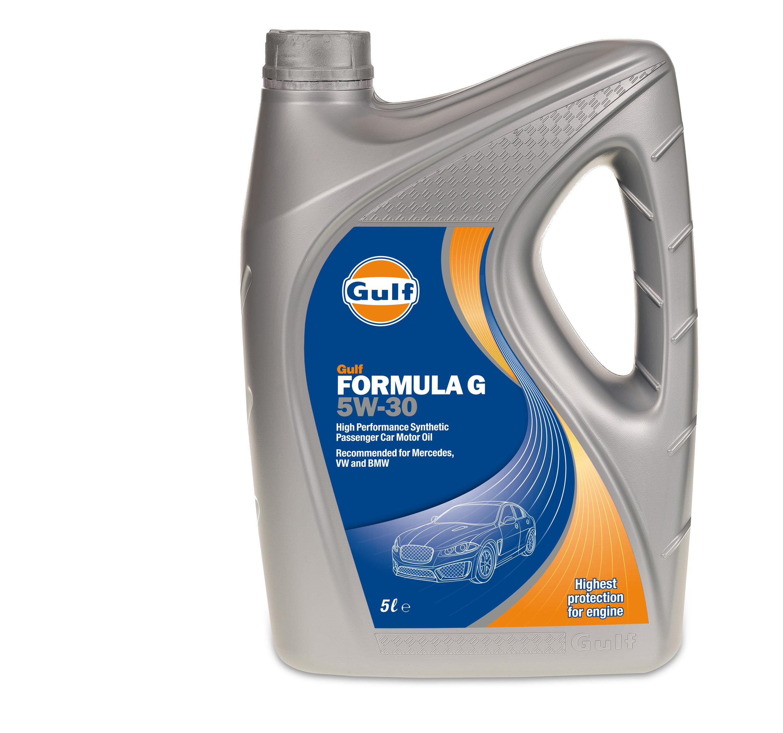 Gulf Formula G Oil