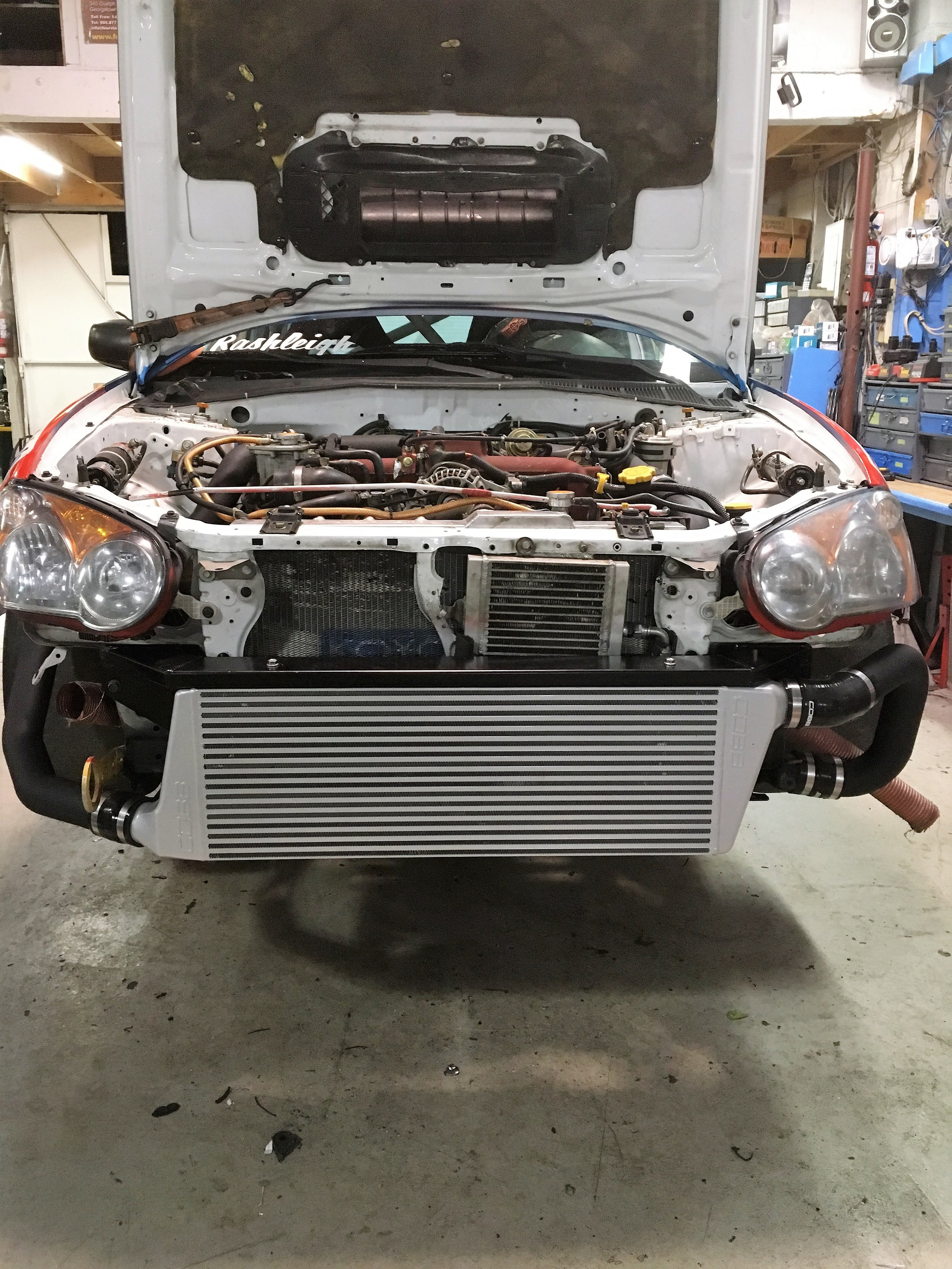WRX + COBB Intercooler