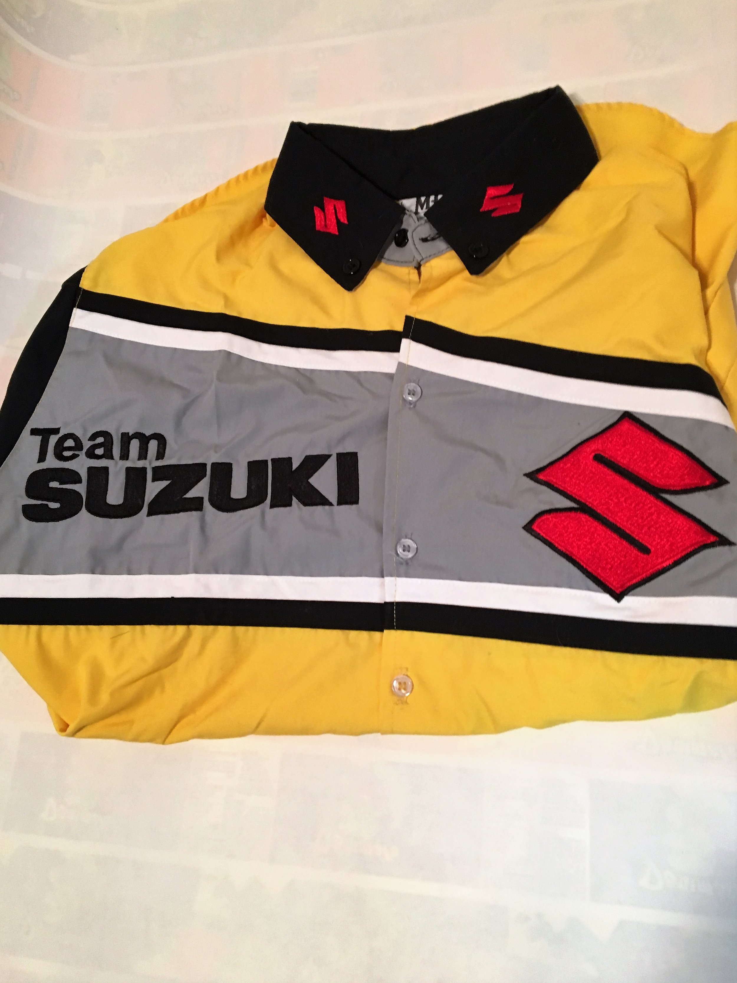 Suzuki Crew Shirt $25