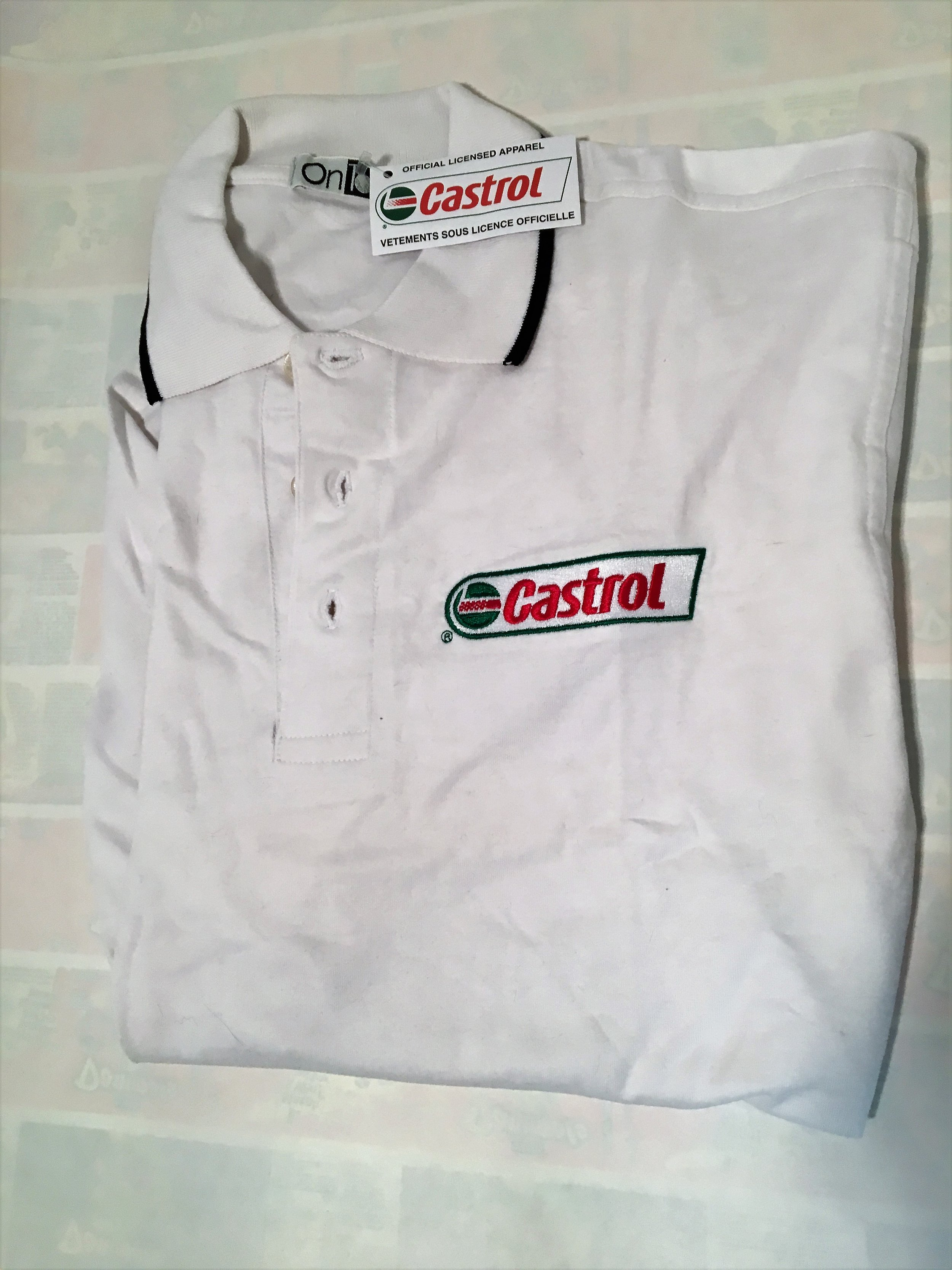 Castrol Golf Shirt $10