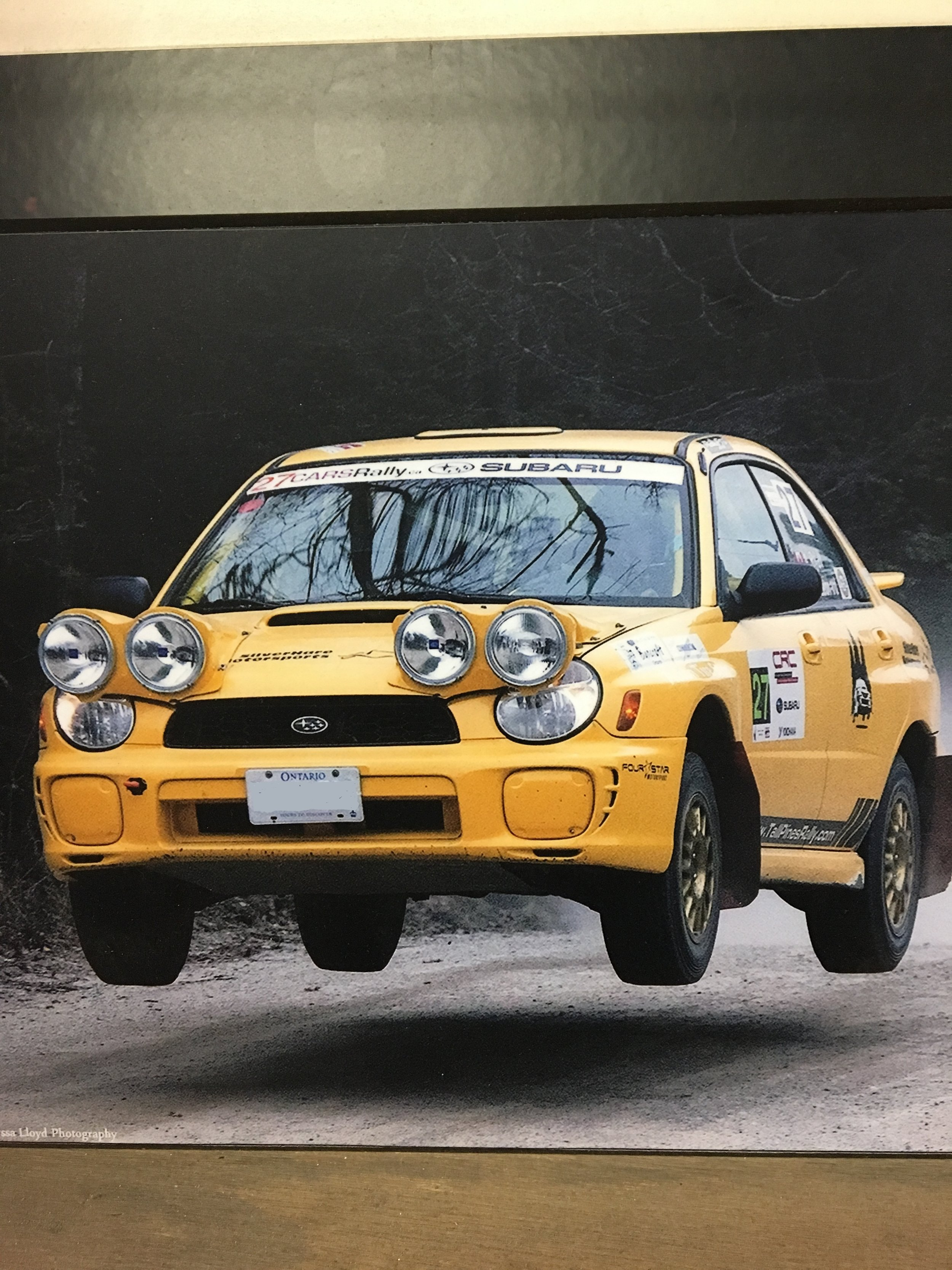 Possible Rally Car