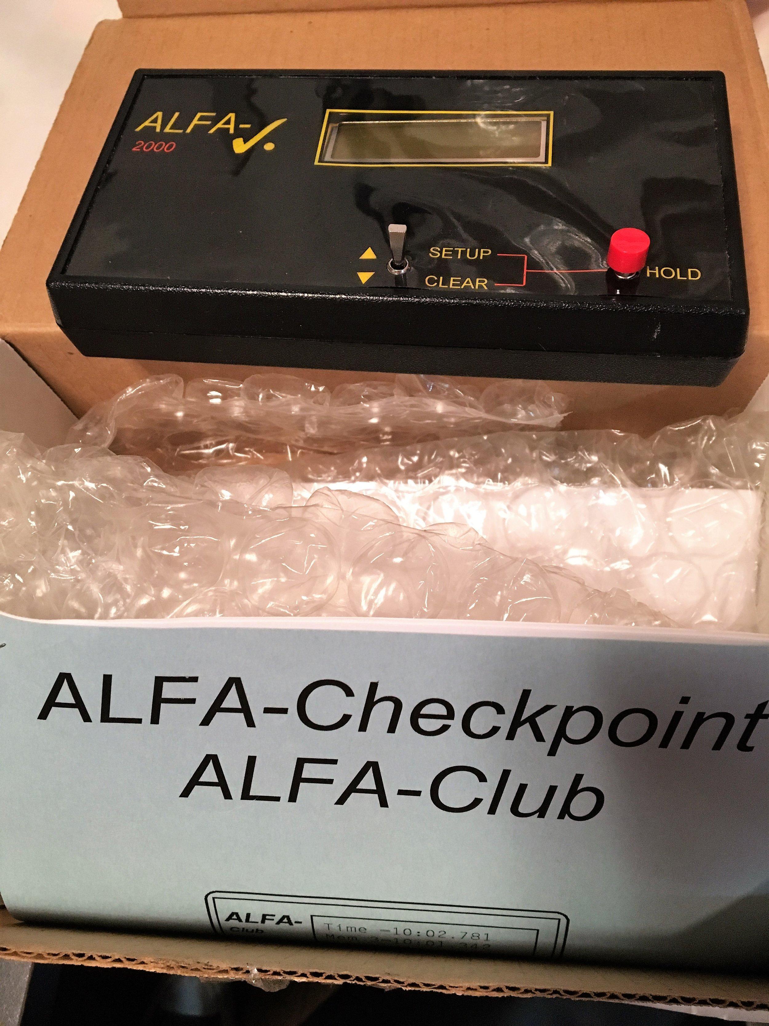 ALFA Checkpoint 2000