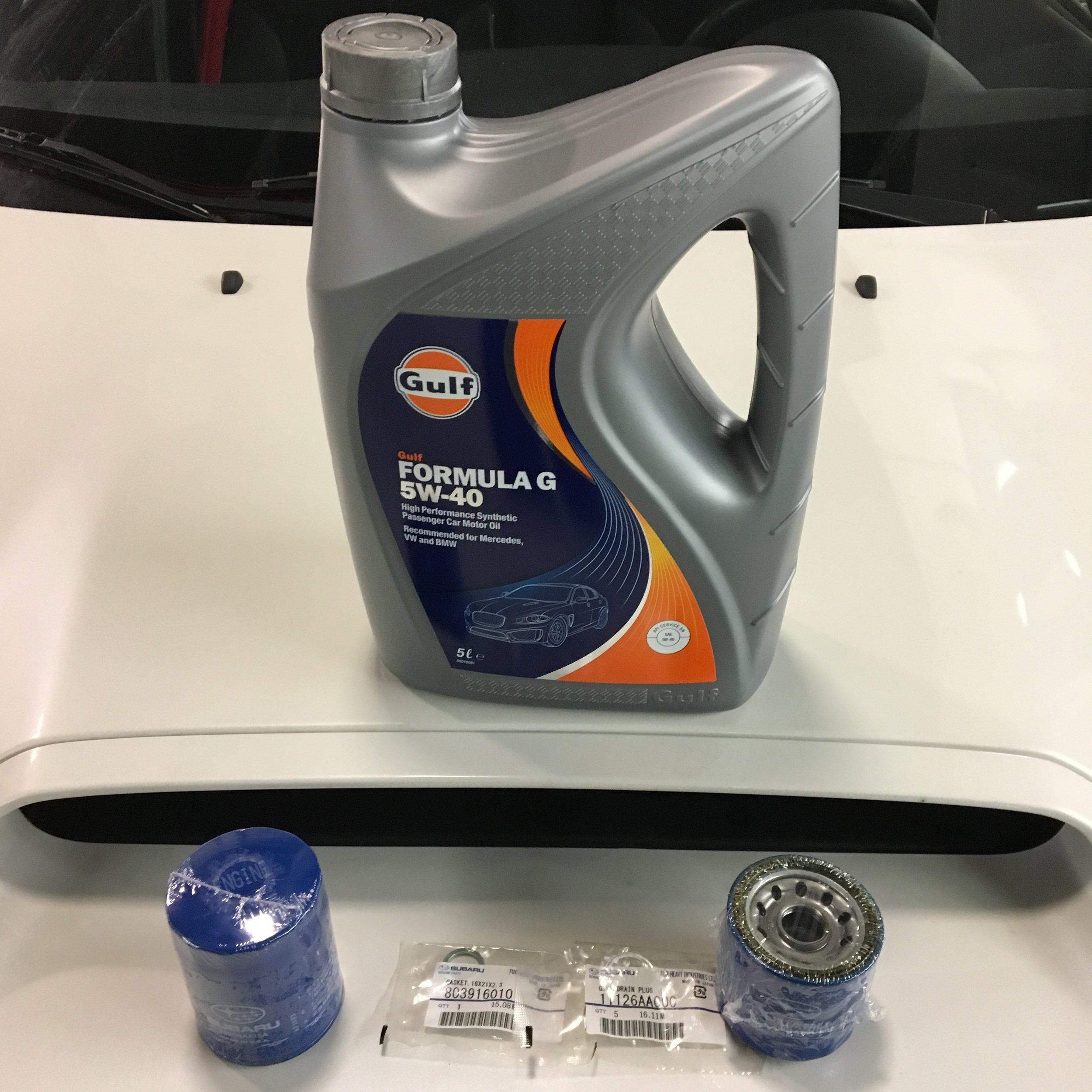 DIY Oil Change Package