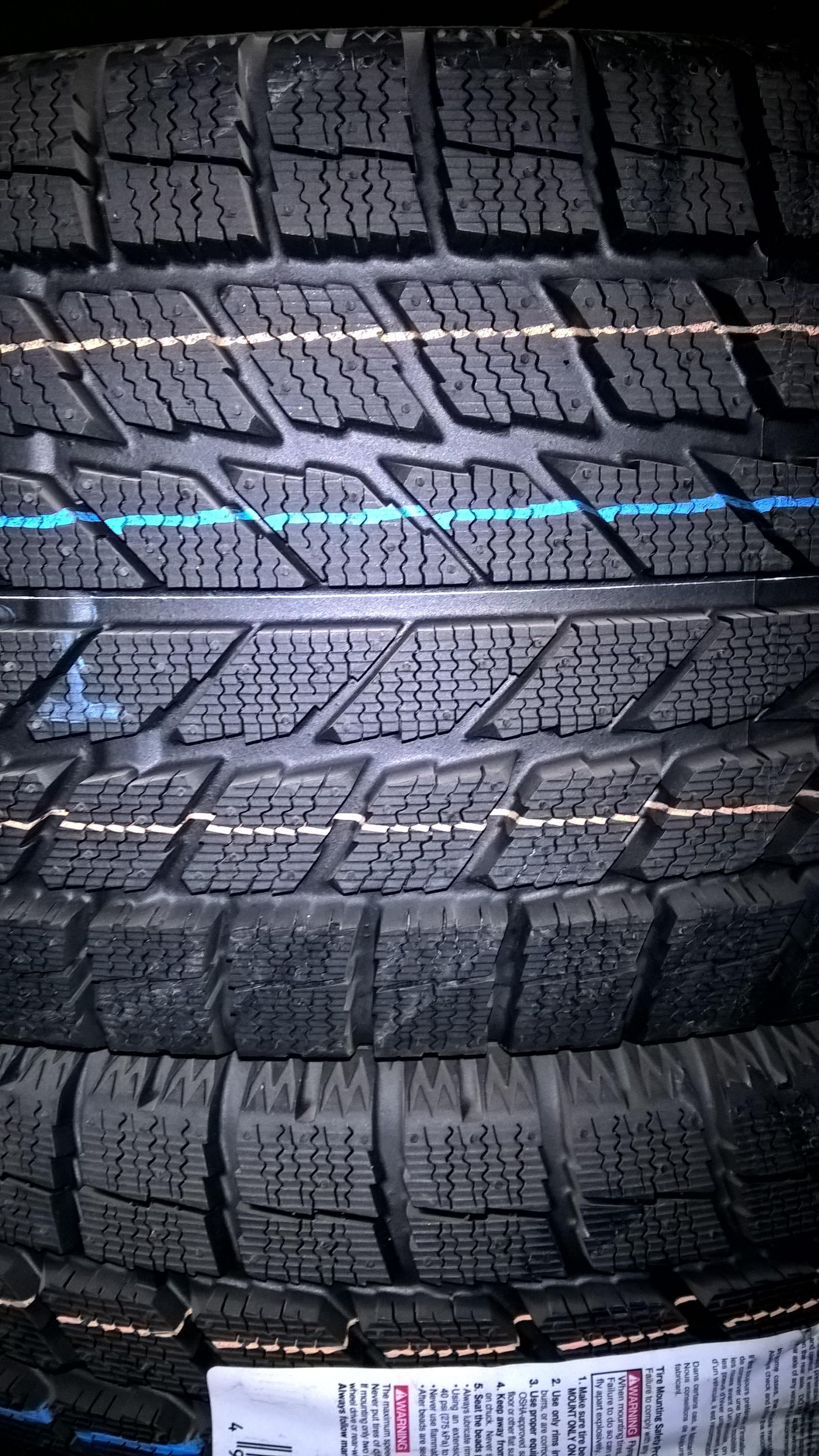 Toyo Tire Tread Detail