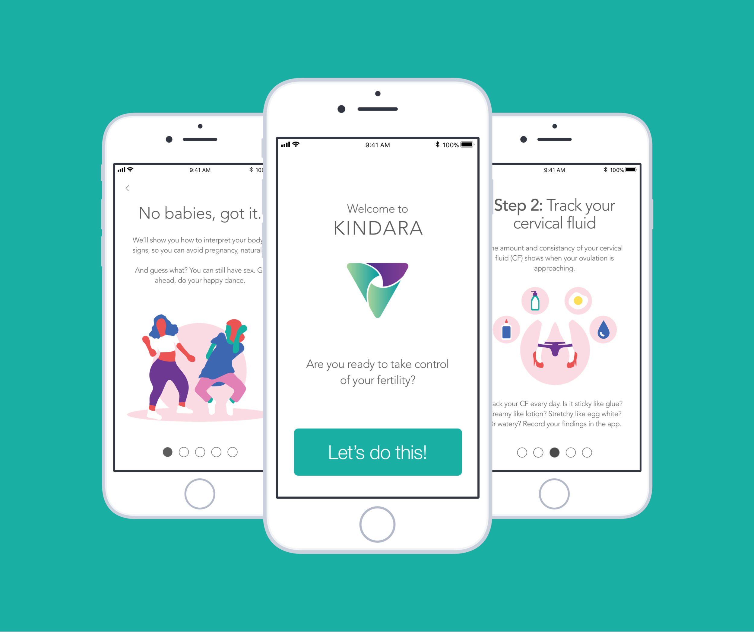 Kindara - Kindara is a fertility tracking app that inspired my first UX case study. I used data collected through my research and usability testing to redesign the iOS onboarding flow, with a focus on empowering new users to take control of their fertility.View the Case Study
