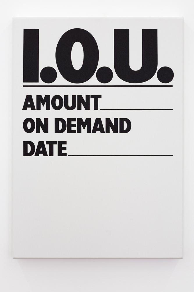 I.O.U. (untransacted) 1987