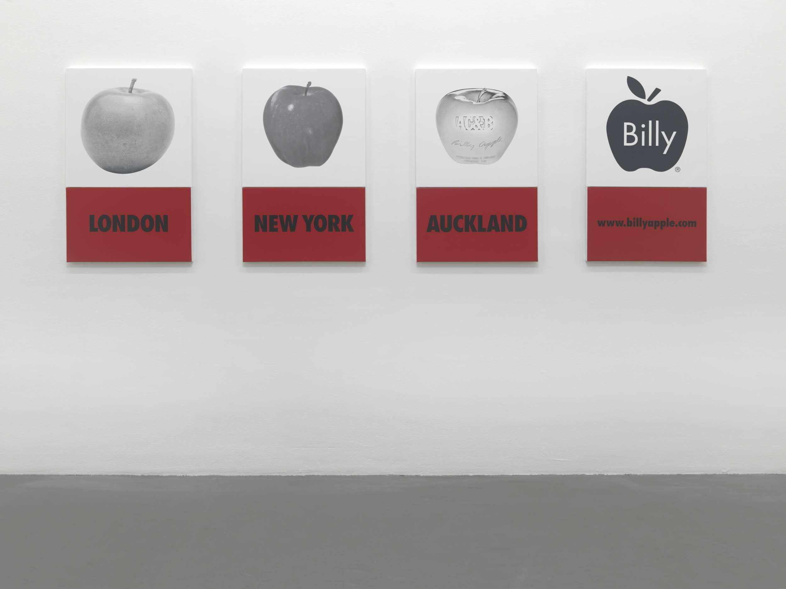 Billy Apple® A History of the Brand, Witte de With, Centre for Contemporary Art, Rotterdam