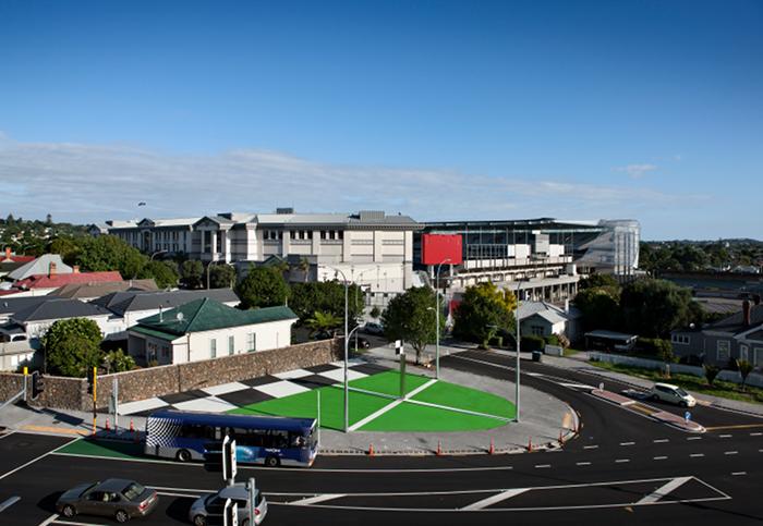View of The Corner Post, Eden Park, Auckland 2009–2011