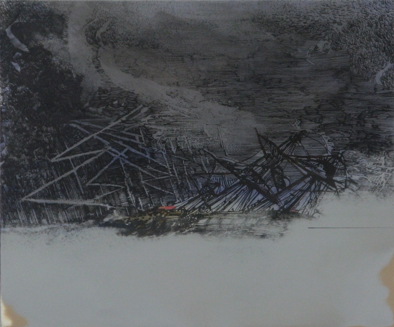 Untitled Shipwreck (Touched) 2010
