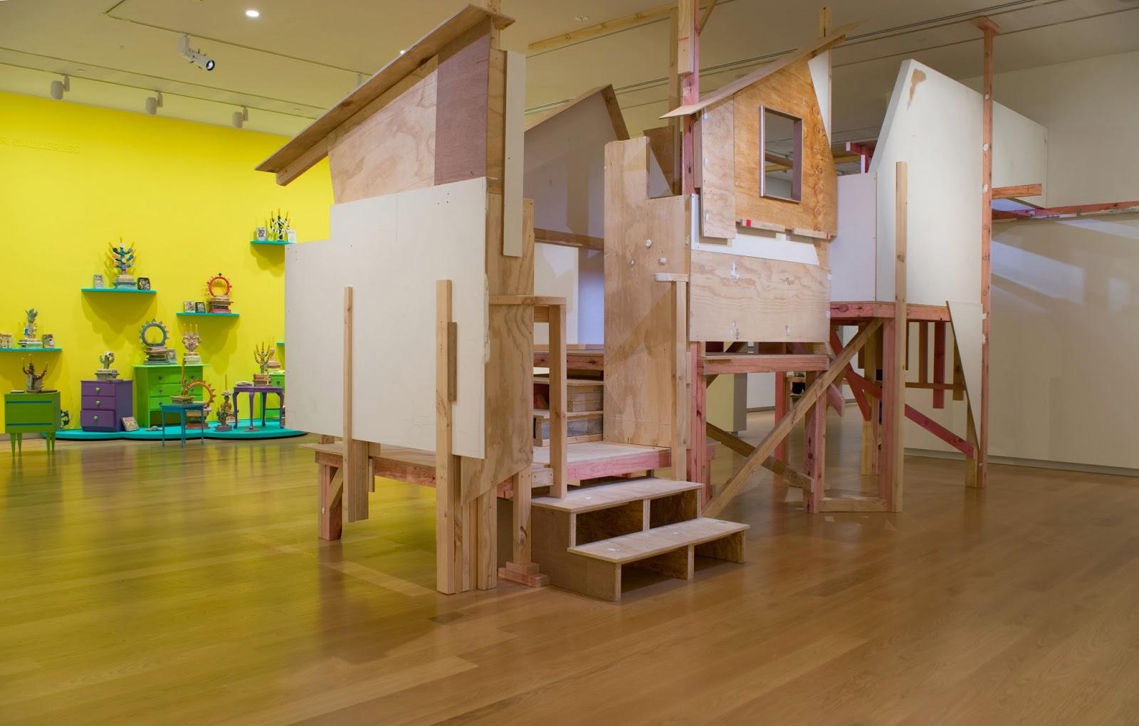 Tree Hut, 2013, Freedom Farmers, Auckland Art Gallery Toi o Tāmaki