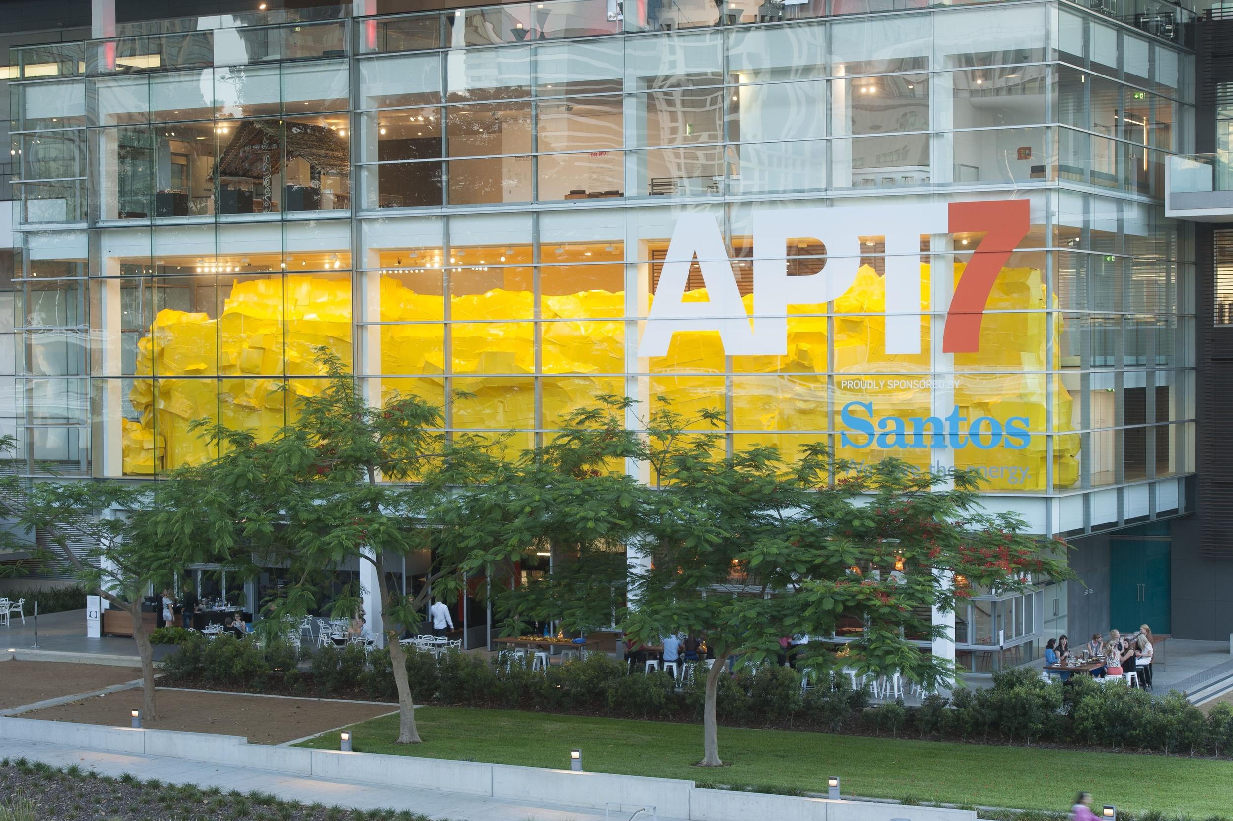 Big Yellow, 2012, Asia Pacific Triennial, Queensland Art Gallery Museum of Modern Art, Brisbane.