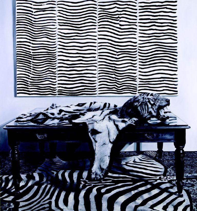 Michael Zavros,  Body Lines,  2011, oil on canvas, 2100 x 1950 mm