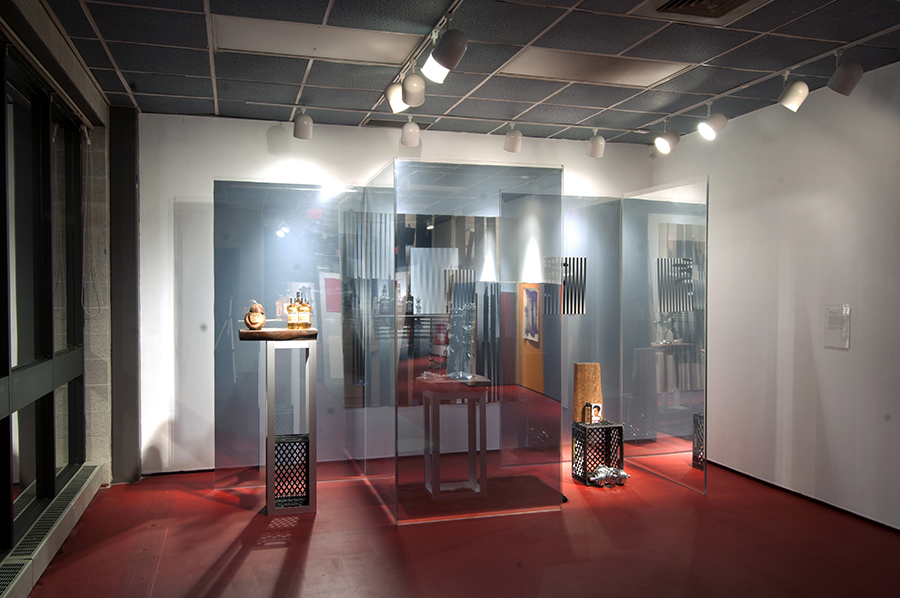 """From the group show """"Display"""", curated by Barry Rosenberg. Martin Basher, Gabriele Beveridge, Dike Blair, Josephine Meckseper and Mika Tajima. Contemporary Art Galleries, University of Connecticut, New York, 2014"""