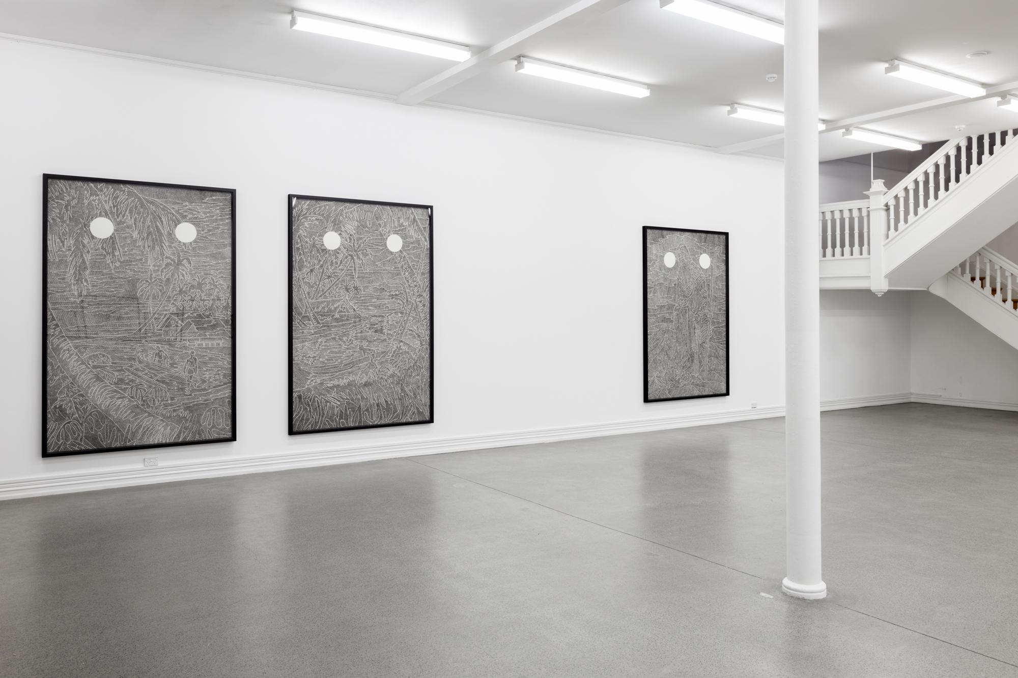 Laith McGregor,  Swallow the Sun , installation view, Starkwhite, 2017