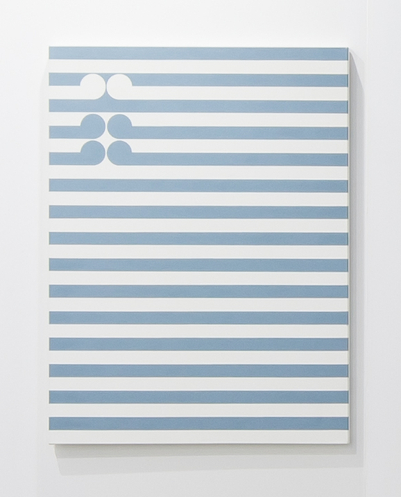 Gordon Walters,  Untitled , acrylic on canvas, 1220 x 915 mm, courtesy of the Walters Estate