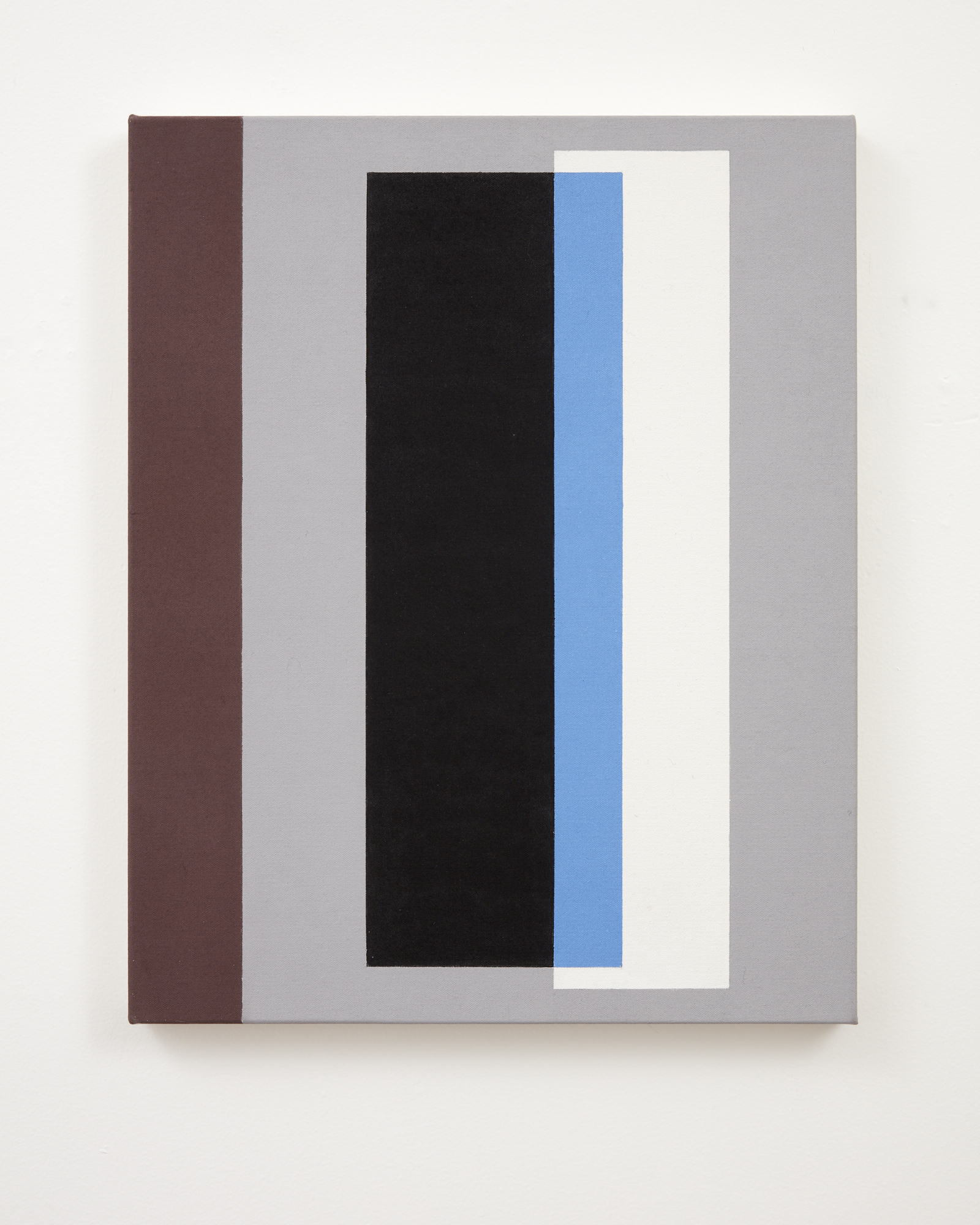 Gordon Walters,  Untitled , acrylic on canvas, 505 x 405 mm, courtesy of the Walters Estate