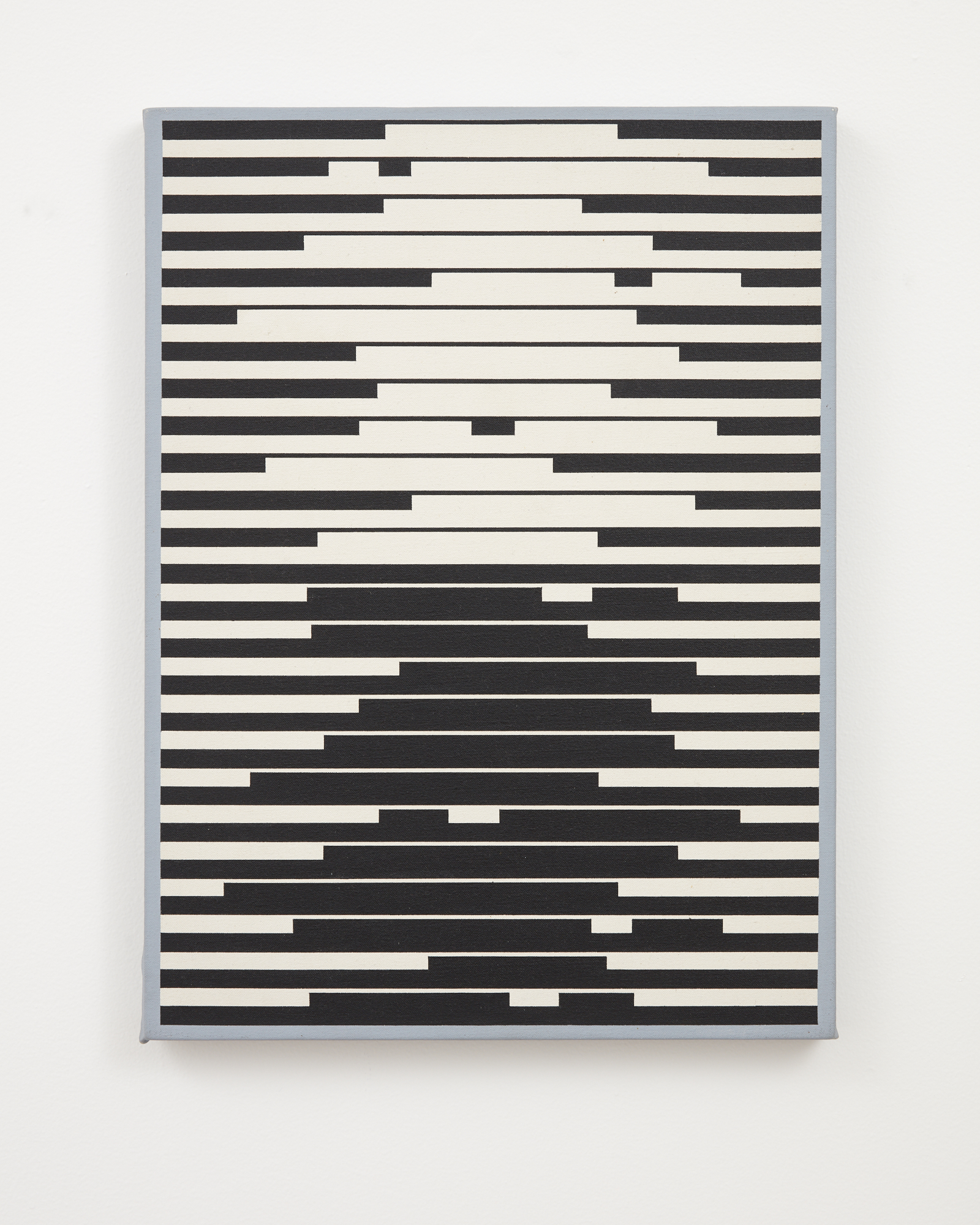 Gordon Walters,  Untitled, 1969-73 , acrylic on canvas, 480 x 360 mm, courtesy of the Walters Estate