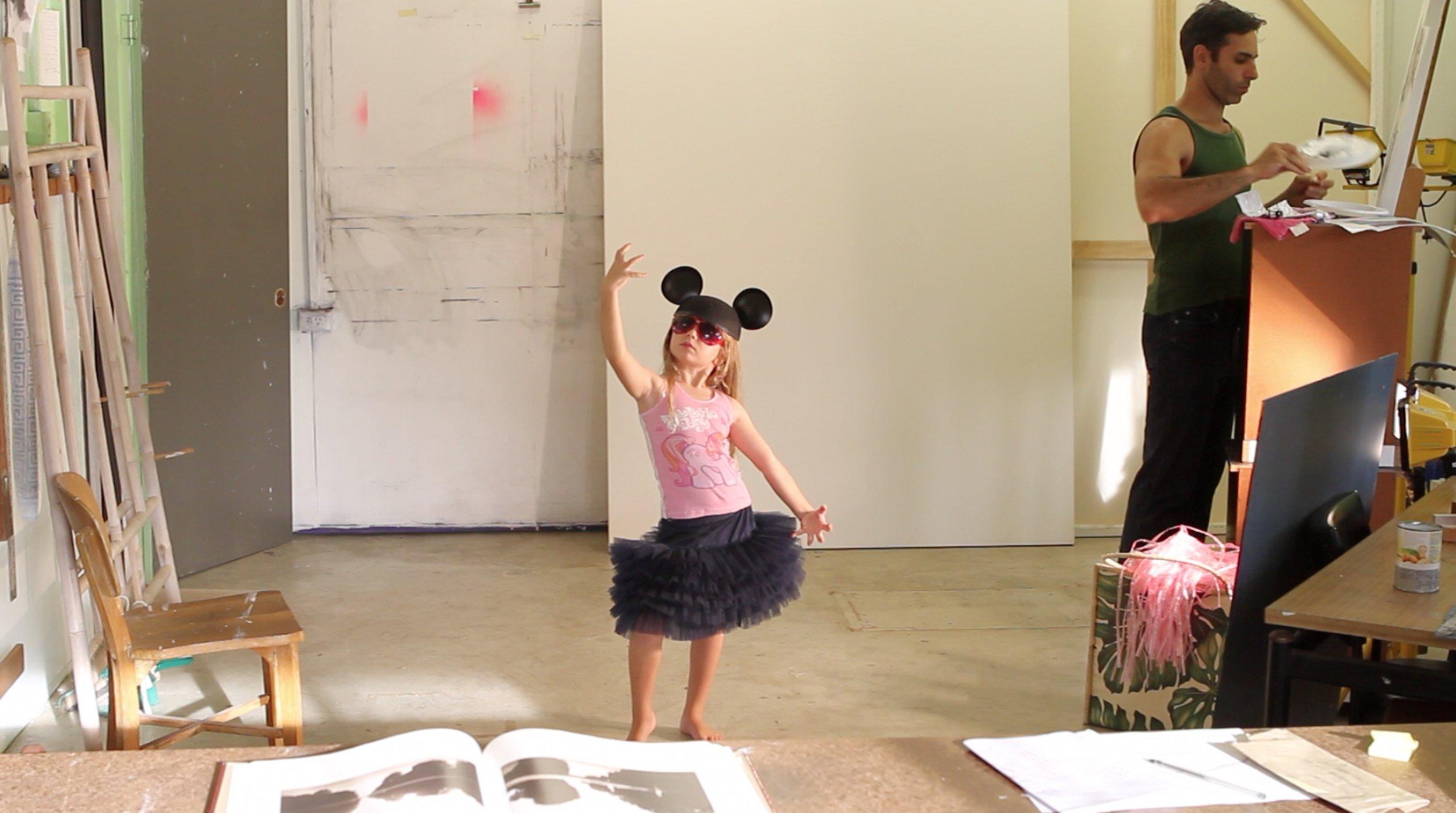 Michael Zavros,  We Dance In The Studio (To That Shit On The Radio) , 2010, digital video